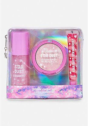 just shine cosmic girl shimmer set  unicorn makeup