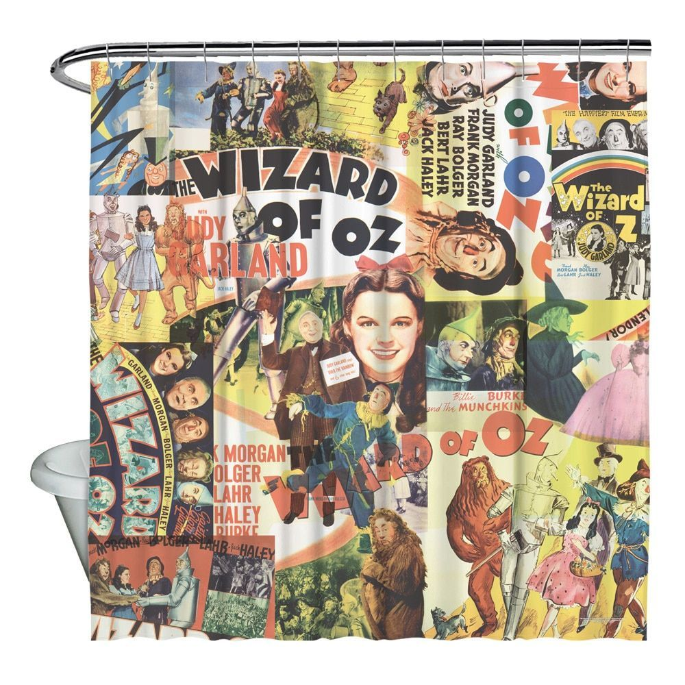 Wizard Of Oz/Collage Shower Curtain