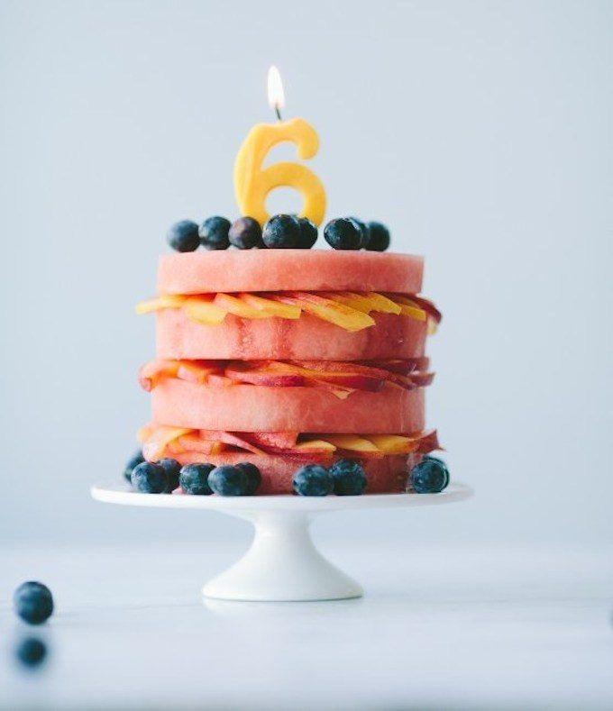 8 Awesome Birthday Cakes Fresh fruit Birthday cakes and Cake