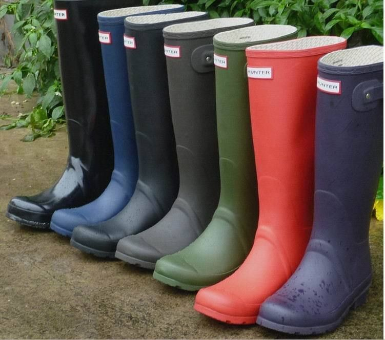 Cheap Wholesale Hunter Brand Rain Boots Unisex Rubber Rainboots ...