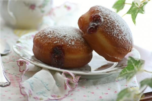 EASY sufganiyot (doughnuts) that are also a traditional Chanukah treat...