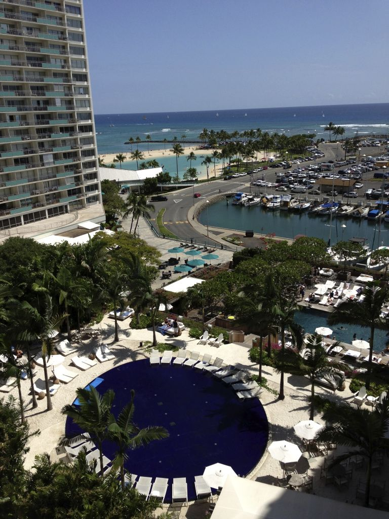 View From Partial Ocean View Room 927 The Modern