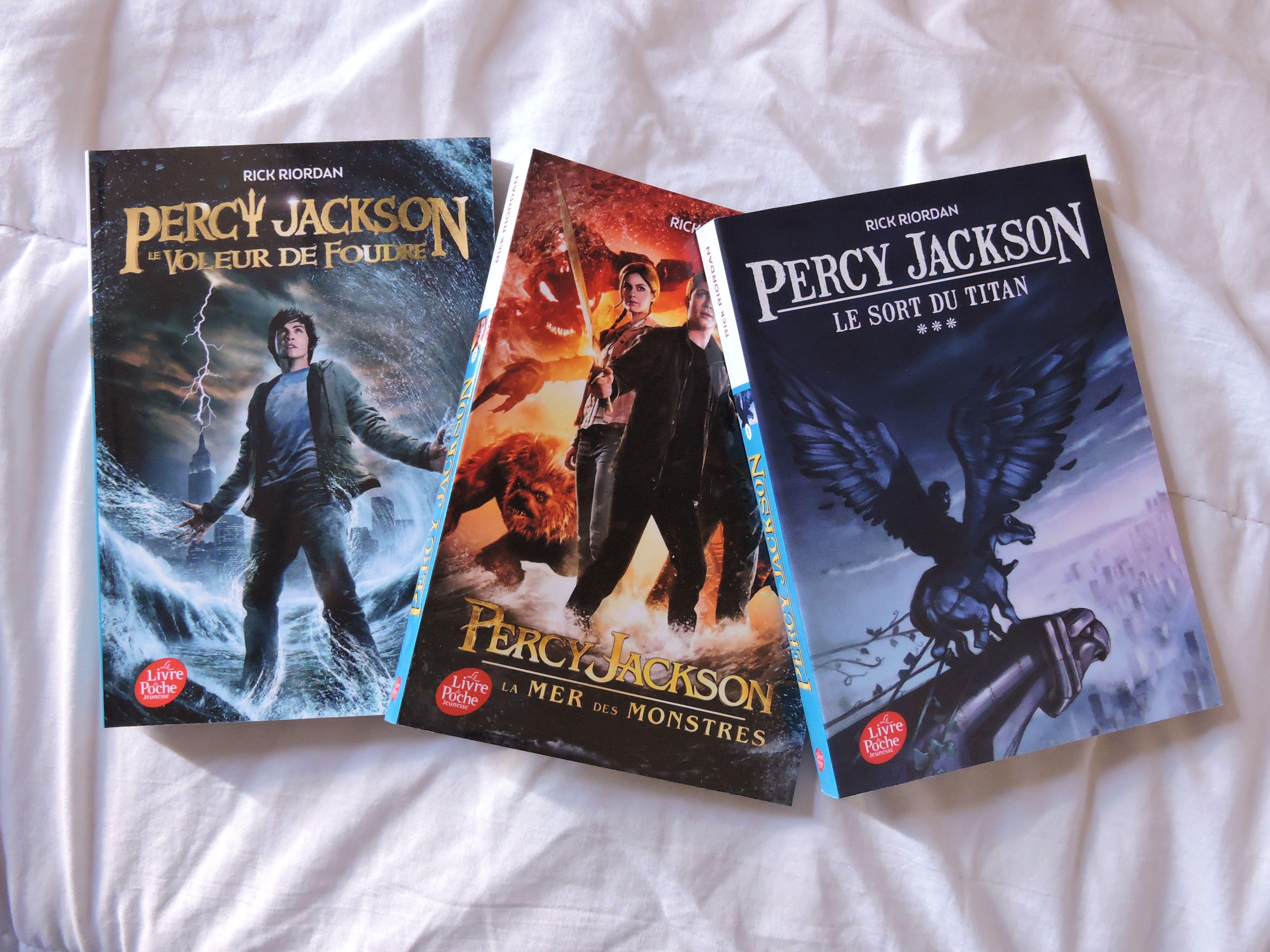 Percy Jackson Le voleur de foudre Percy Jackson La mer des monstres
