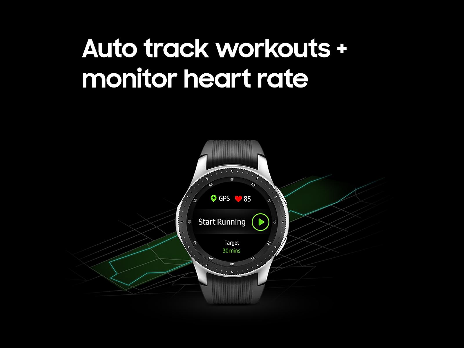 Samsung Galaxy Watch 46mm Silver 4g Lte Smartwatch Samsung Samsung Galaxy Smart Watch