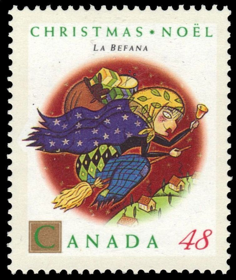 "Christmas Personages ""La Befana"" (pa48387"