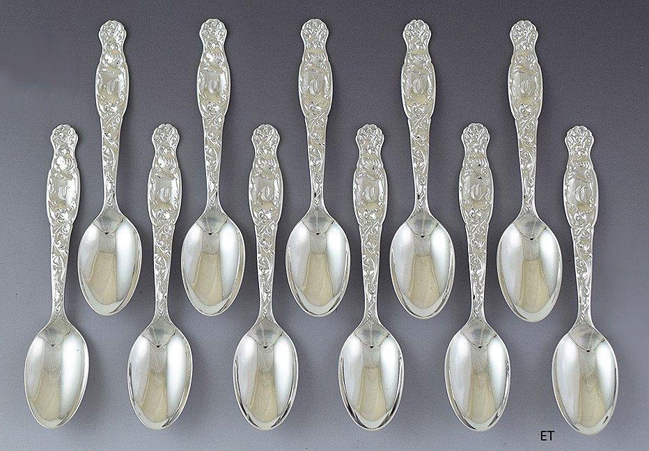 Wallace Faneuil Regular Fork *Rare Pattern! Sterling Silver Flatware