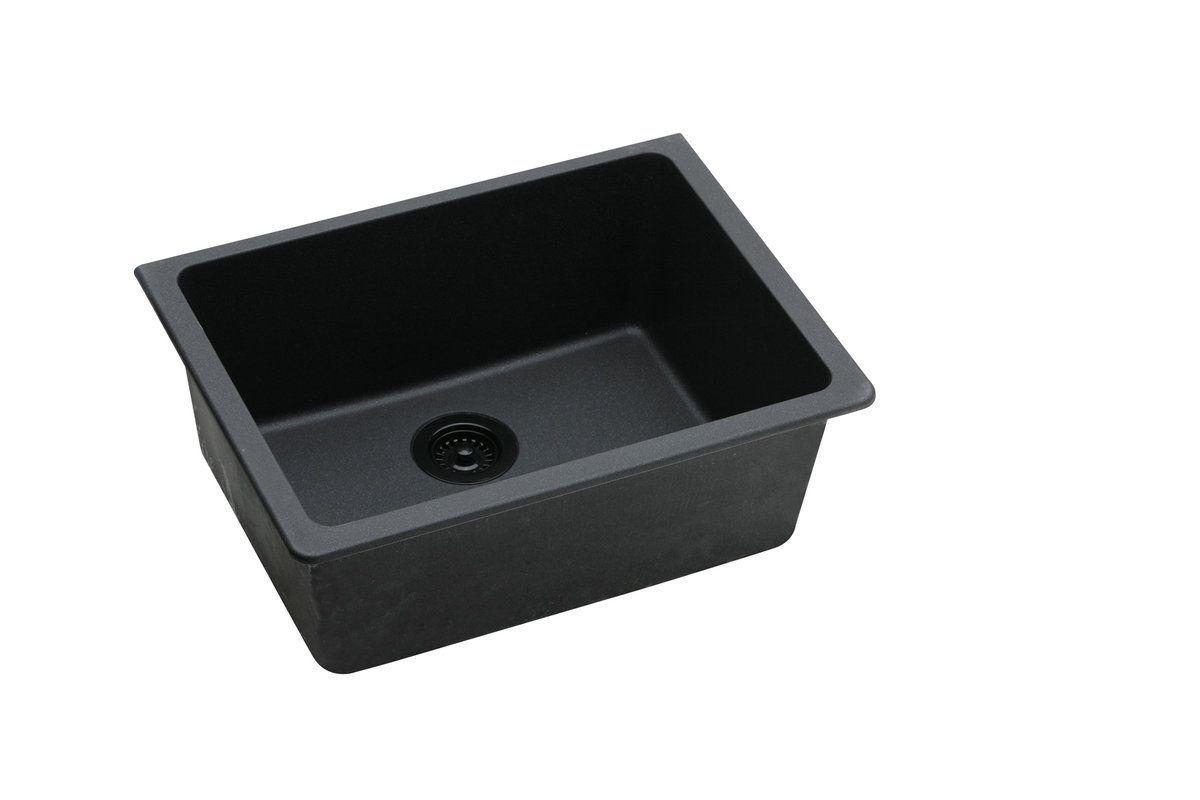 Elkay Elgu2522 In 2020 Single Bowl Kitchen Sink Sink Composite