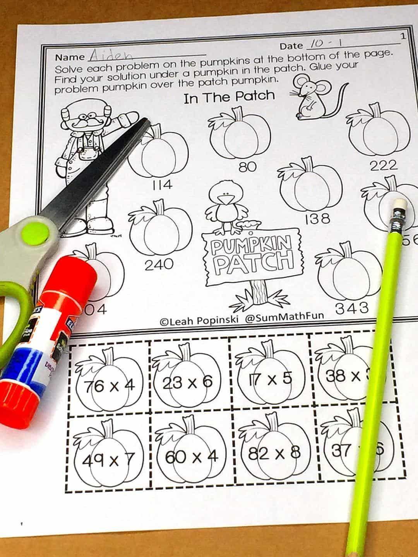 Free Multi Digit Multiplication Worksheets In
