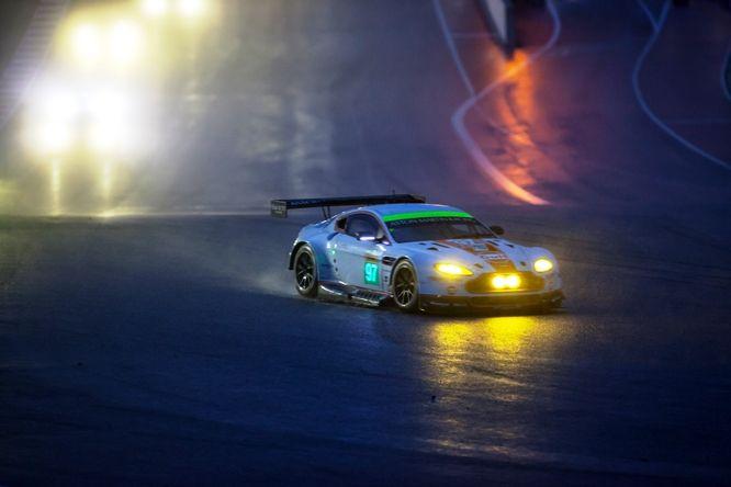FIA WEC   Austin, Gara: l'Audi sopravvive al diluvio