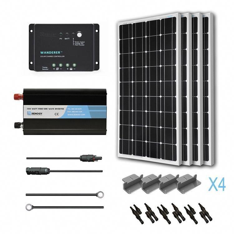 Renogy 400w 12v Solar Complete Kit Solar Sphere Inc Solarpanels Solarenergy Solarpower Solargenerator Solar In 2020 Solar Heating Solar Energy Panels Solar Energy