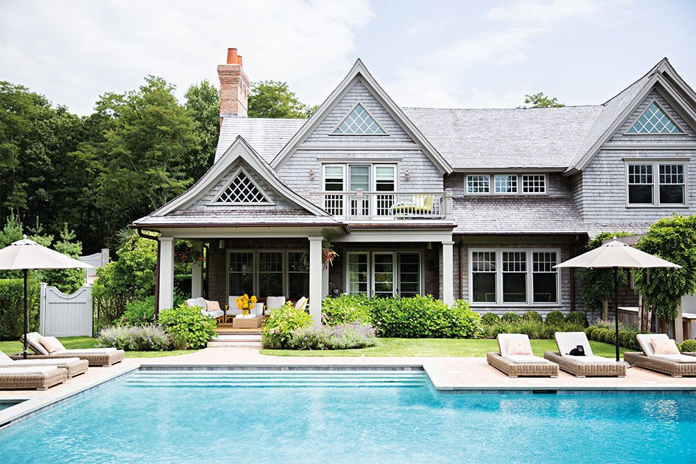 Home Remodel Costs On Average Domino Hamptons House Hamptons Style Homes Celebrity Houses