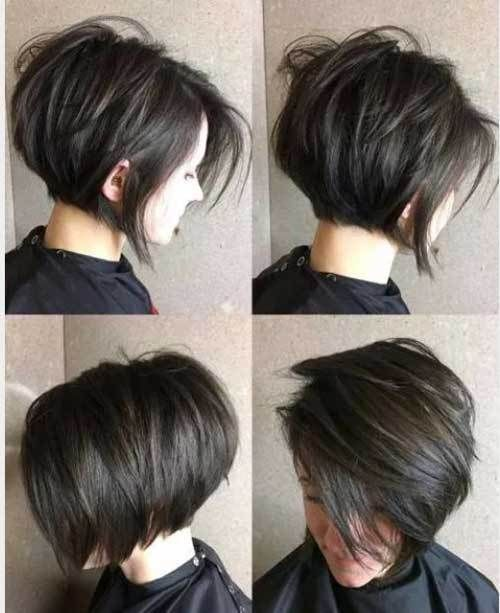 Latest Short Bob Haircuts For Women The Undercut Thick Hair Styles Short Hair With Layers Short Bob Hairstyles