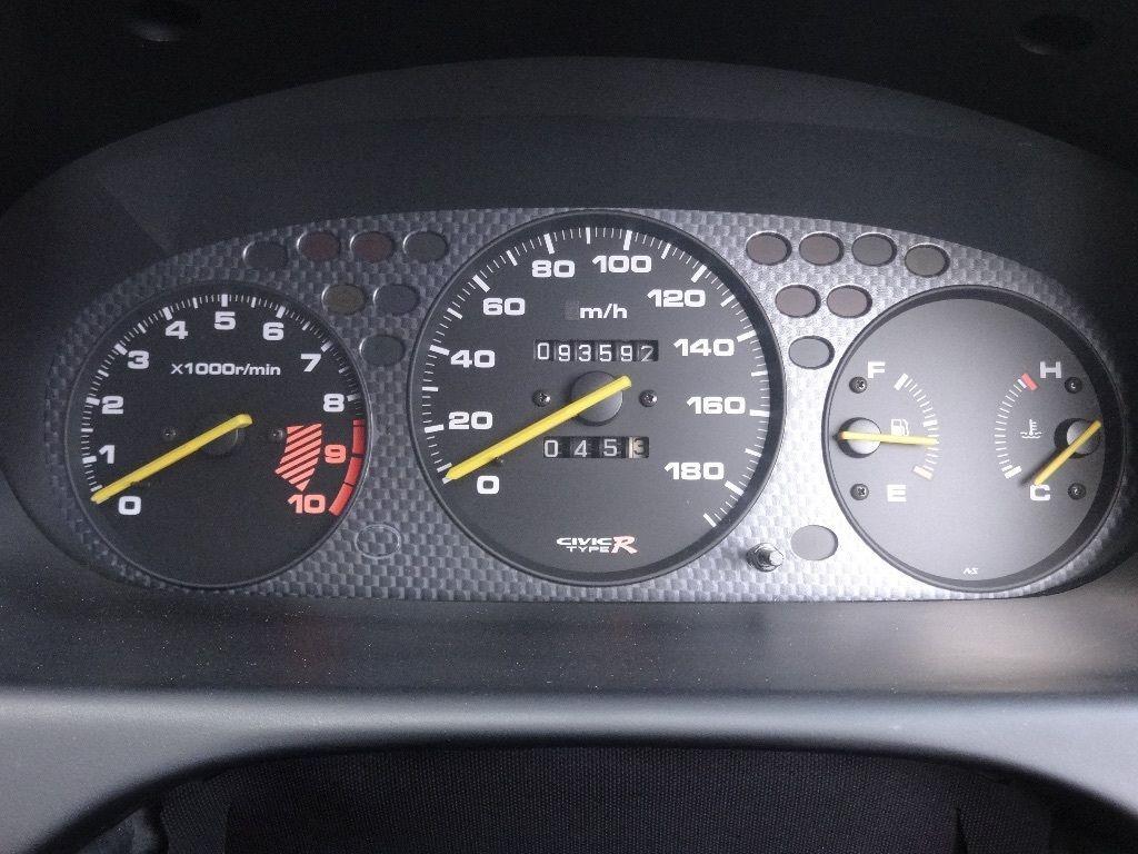 Type R Honda Civic Ek9 Dash Cluster Honda Civic Type R 2000 Honda Civic Honda Civic