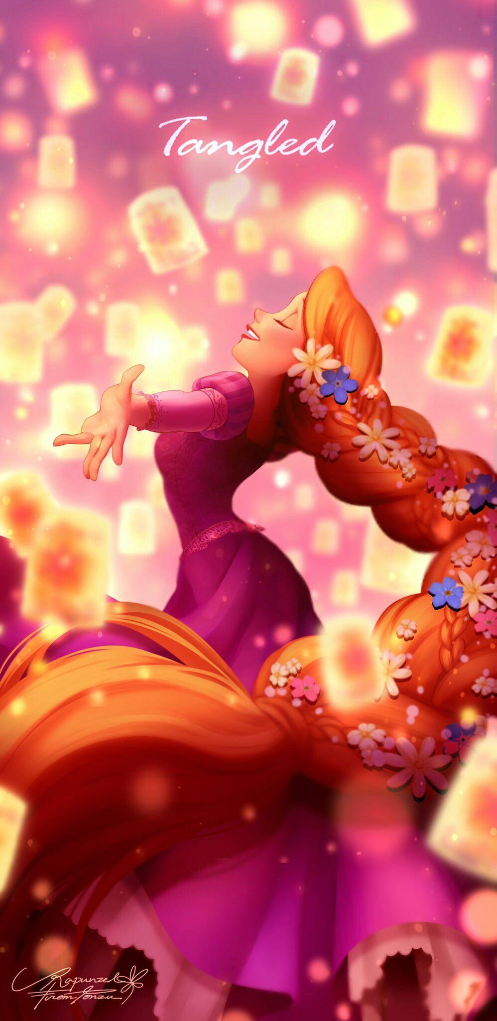 Wallpaper ディズニーのラプンツェル ラプンツェル 画像 ディズニー壁紙 プリンセス