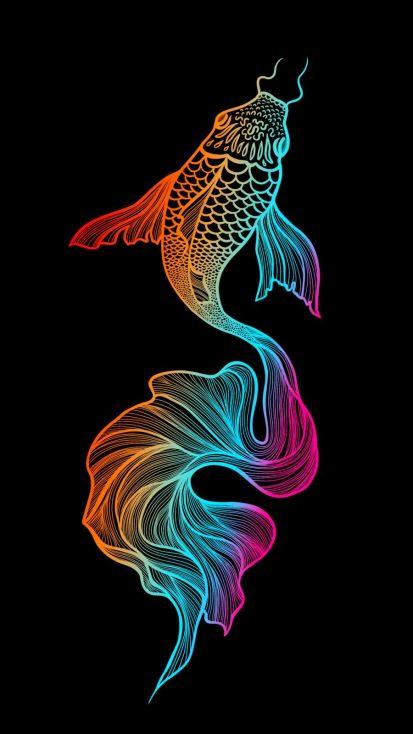 Fish Art IPhone Wallpaper - IPhone Wallpapers