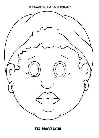 Pin Em Eva Maske