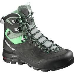 Photo of Salomon women's trekking shoes Xc Alp Mtn Gtx, size 40? in asphalt / light / tt / jade / green, size 40? i