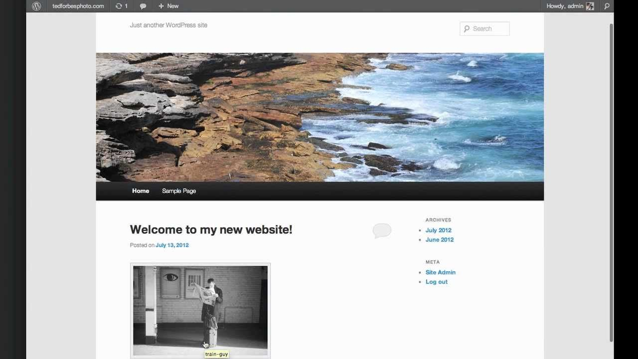 Build a Photography Website in 5 Minutes | Business {Names