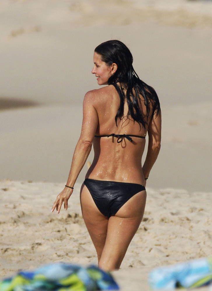 Courteney Cox Bikini  64 Very Nice Sweet
