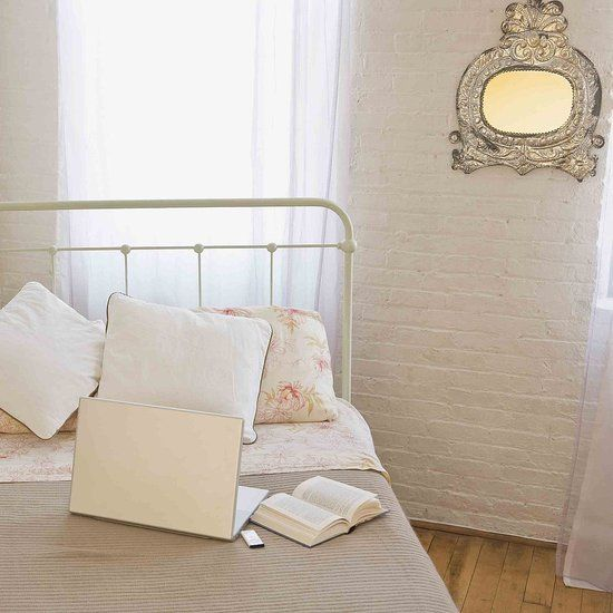 How To Hang Artwork On A Hard Wall Iron Headboard Antique Iron Beds Bedroom Frames