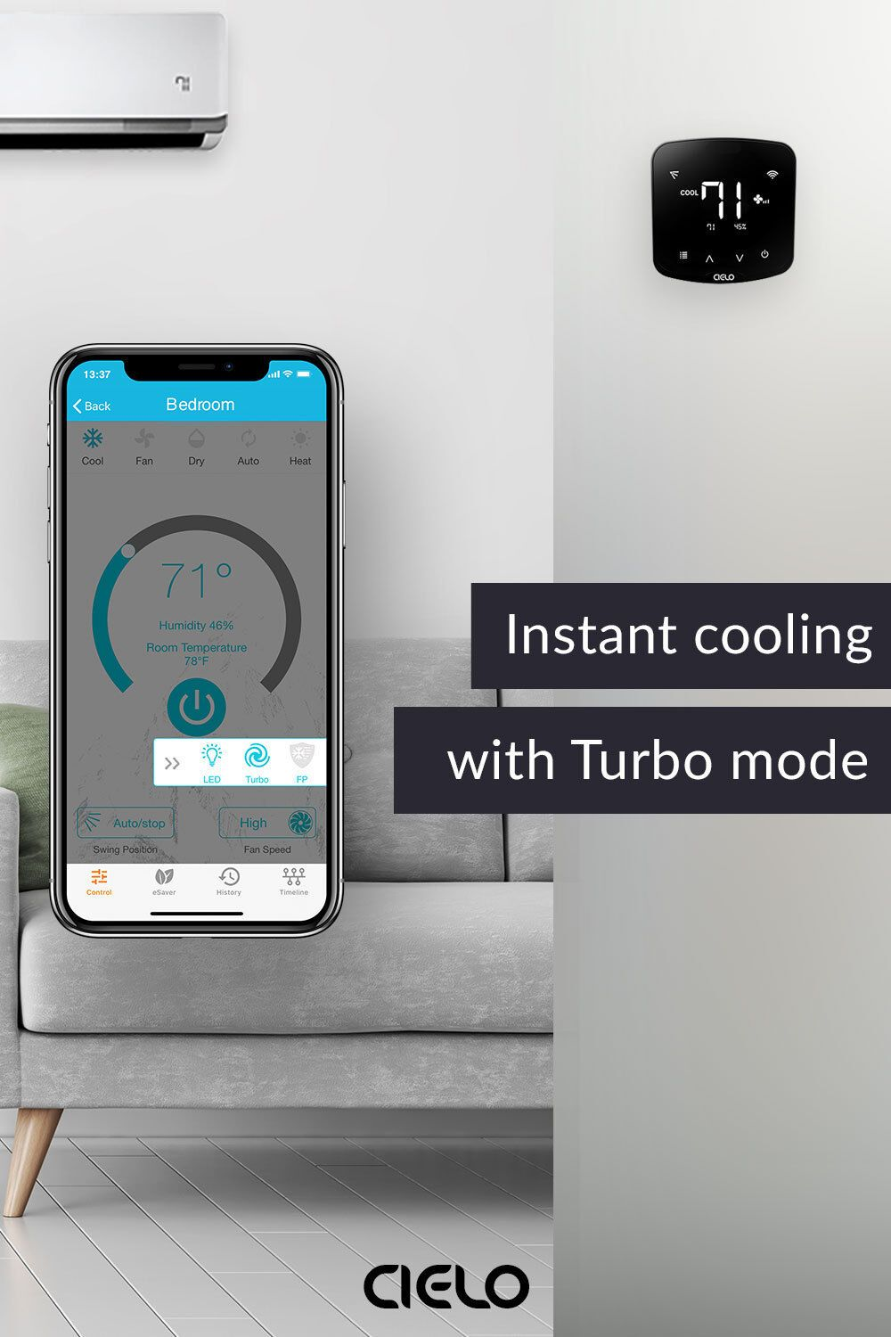 Shop Online Cielo Breez Get The Best Deal For Your Smart Ac In 2020 Smart Air Conditioner Cool Stuff Ac Controller