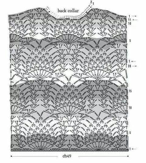 Schema maglia uncinetto