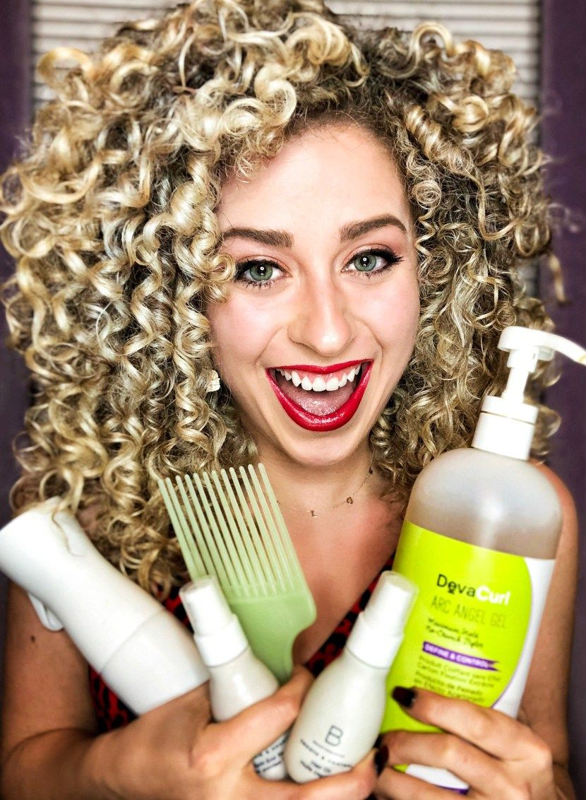 how to refresh curls curly girl method