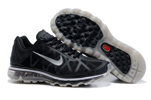 Mens Nike Air Max 2011 Mesh Black Grey | Shoes | Nike air