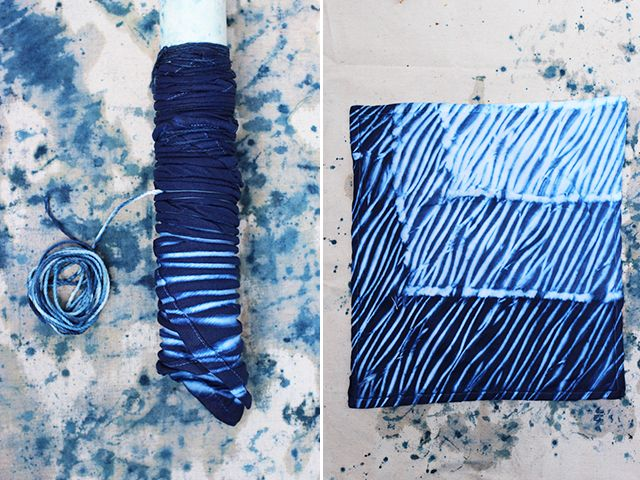 Diy shibori shibori shibori tie dye and anniversaries - Technique tie and dye ...