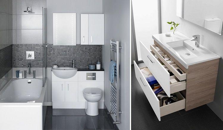 Diseño De Baños Pequeños | Estupendos Disenos Banos Funcionales Interiores Para Banos