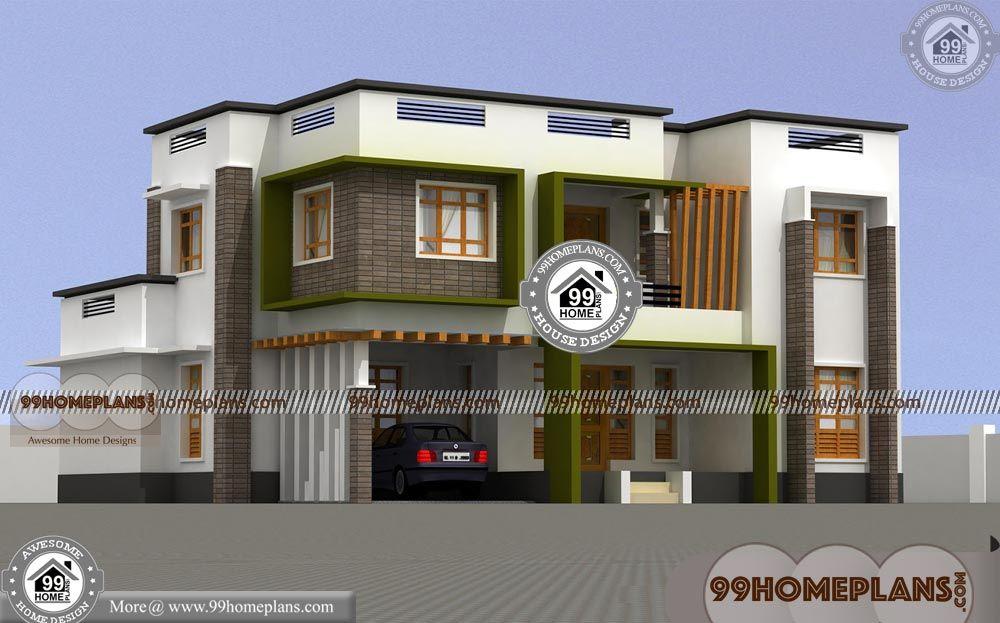 Low Budget House Design Ideas 90 Luxury Double Storey House Plans In 2020 Low Budget House Double Storey House Plans Double Storey House