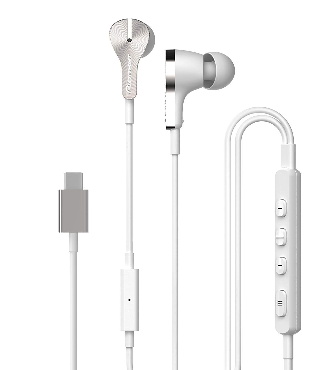 Amazon Com Pioneer Rayz Pro Smart Noise Cancellation Headphones In Ear Earbuds Iphone And Macbook Compat Earbuds Noise Cancelling Earbuds Earbuds Microphone