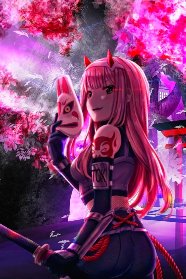 Zero Two Anime Wallpaper