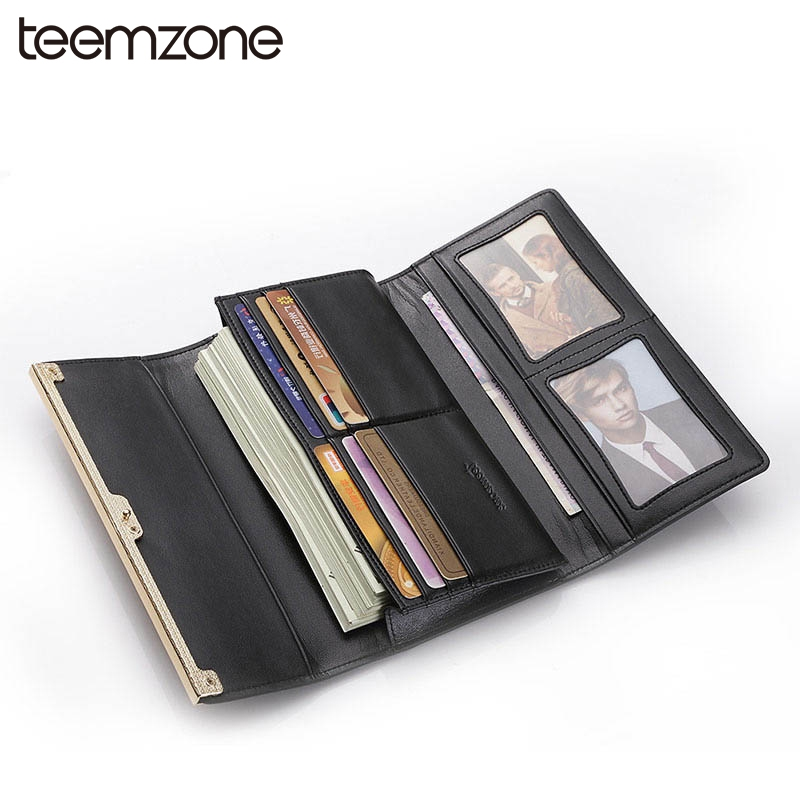 32.45$  Buy here - http://alif6z.shopchina.info/go.php?t=32503523772 - teemzone  Fashion Women's Genuine Leather Hasp Wallet Lady Card Purse Handbag Checkbook Phone Long Wallet Photo Handbag Q452 32.45$ #magazineonlinebeautiful