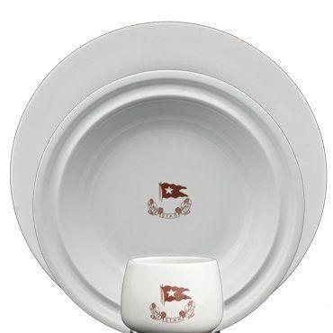 3rd class dinnerware...although not as elaborate as 1st class, nonetheless still…