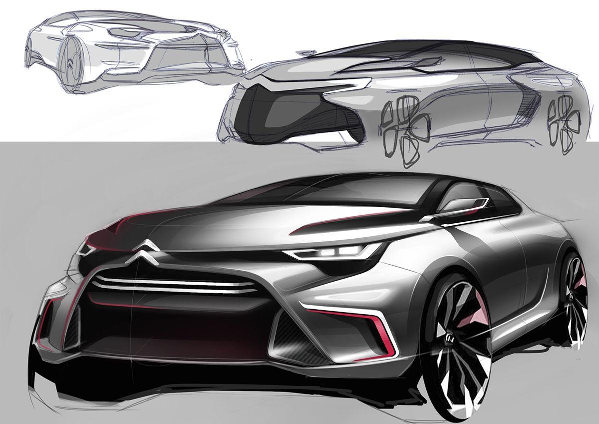https://www.behance.net/gallery/26205013/20150510-sketch   CAR ...