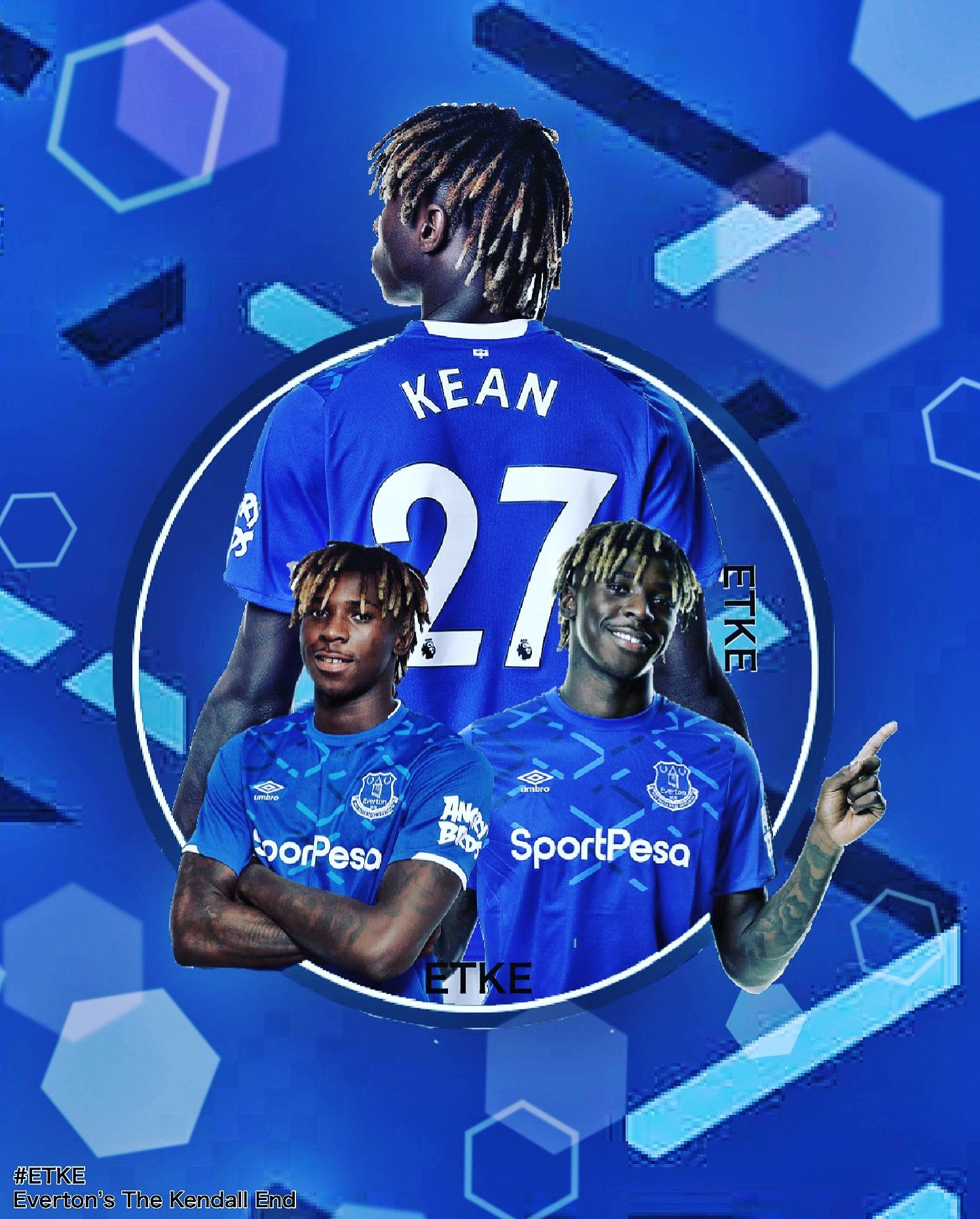 Moise Kean Everton Everton Football Everton Football Club Everton