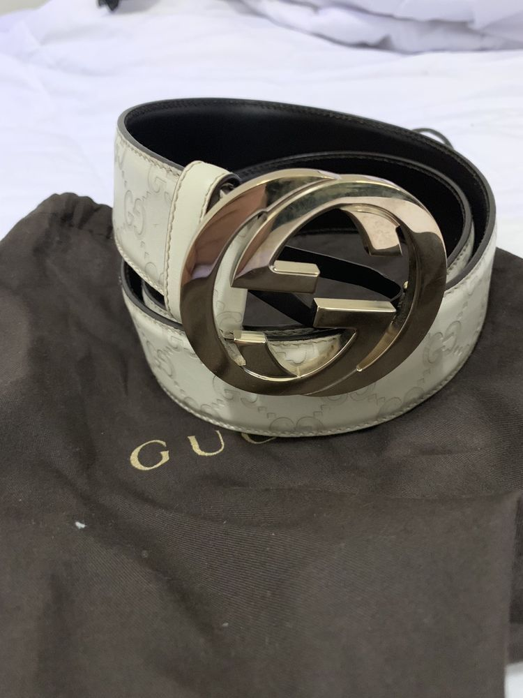 1d9442e5d68 GUCCI Women s GG Gold Buckle Belt Size 34  85cm  fashion  clothing  shoes   accessories  womensaccessories  belts (ebay link)