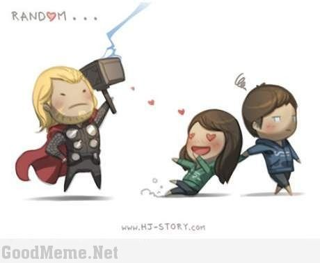 Love My Wife Meme Funny : Girl love thor after watch avenger good meme kicks giggles