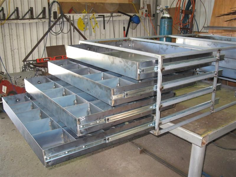 Show Me Your Drawers Metal Sheet Design Metal Furniture Welding Table