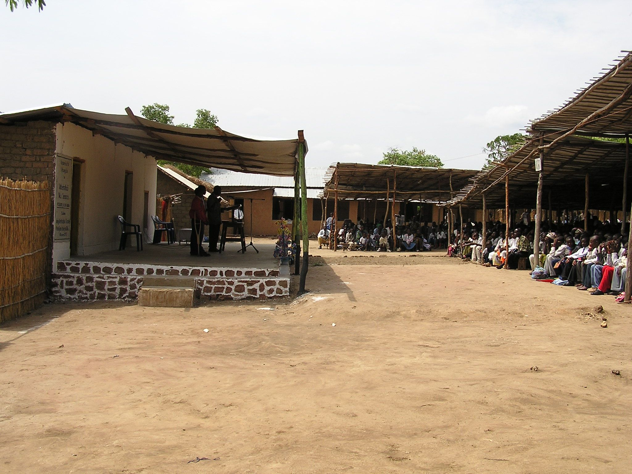 The circuit assembly in the Lugufu Refugee Camp in Tanzania.