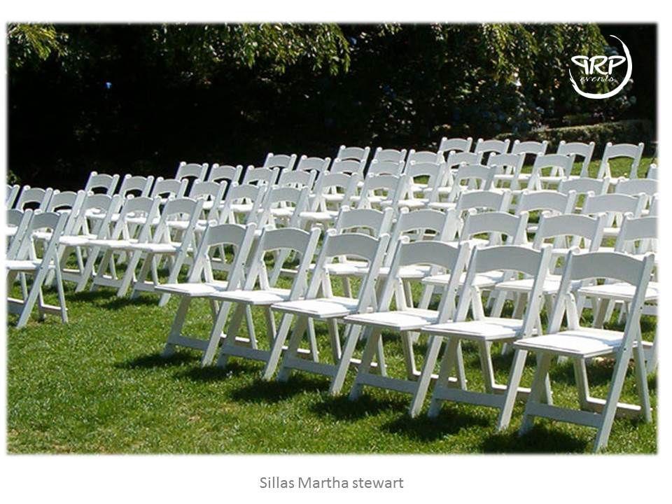 Alquiler de sillas martha stewart eventos - Martha stewart decoracion ...