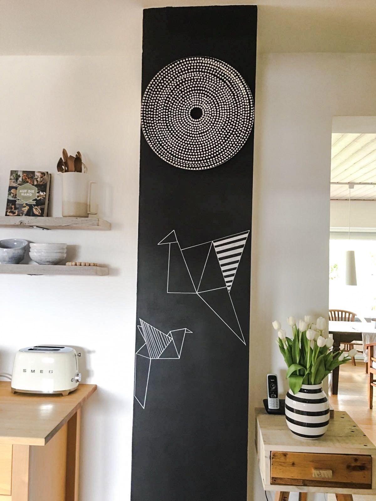 Schön Tafelwand Küche Referenz Von Das Schöne An Der Tafelfarbe Ist, Dass