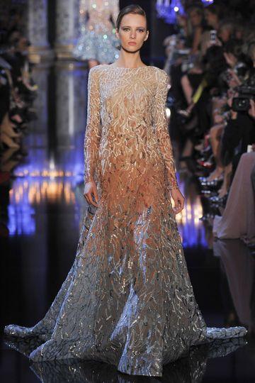 Elie Saab, Haute Couture Paris, Herbst-/Wintermode 2014