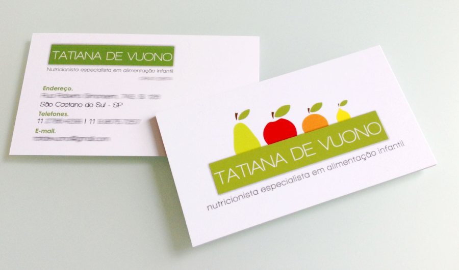 Suficiente cartão de visita nutricionista | Modelos artes | Pinterest  RJ38