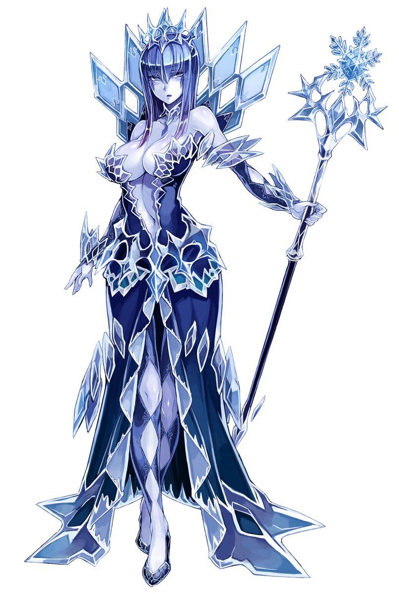 Ice Queen | Monster Girl Encyclopedia | Monster girl ...