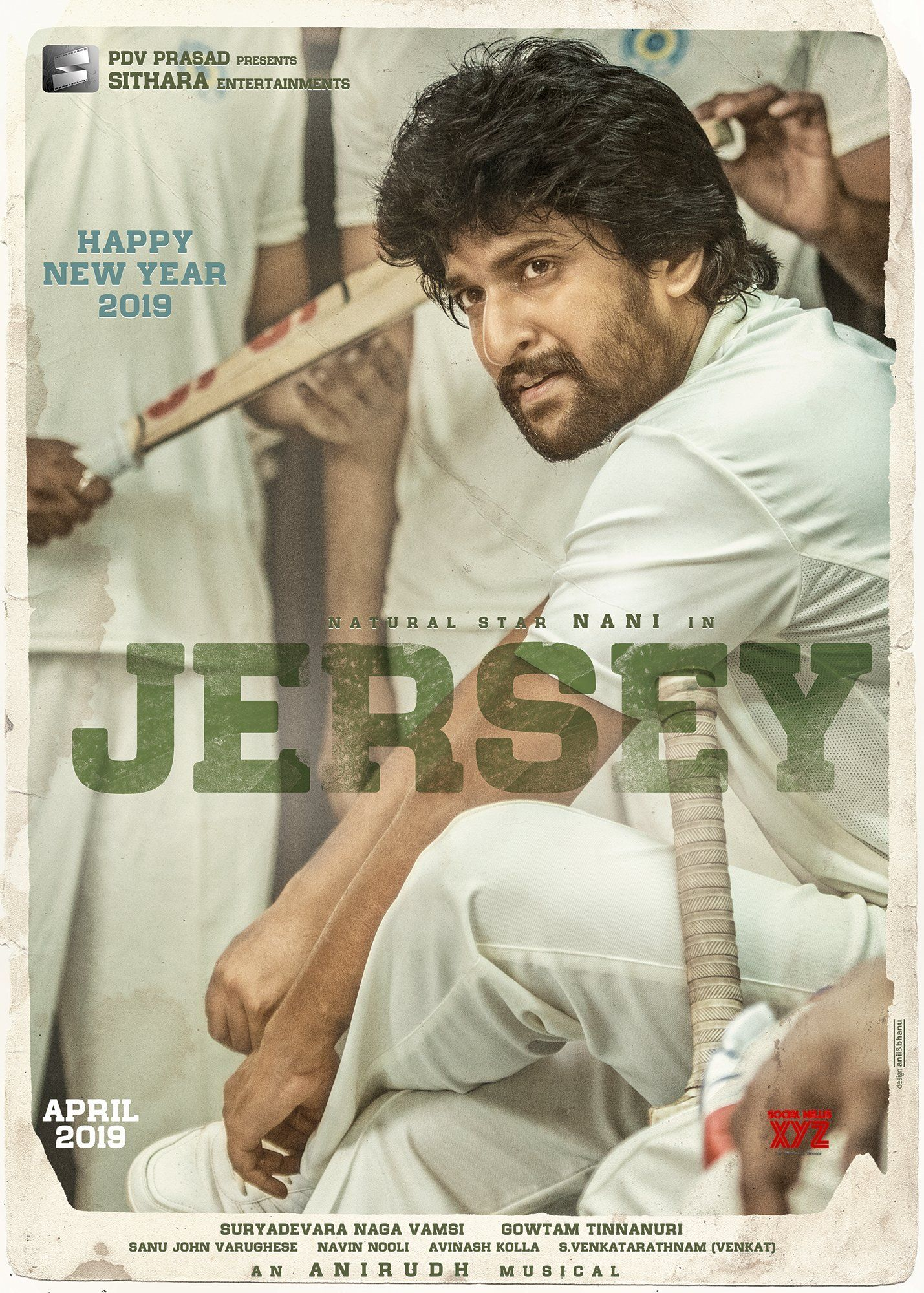 Nani S Jersey First Look Hd Poster And Still Social News Xyz Telugu Movies Online Telugu Movies Download Download Movies