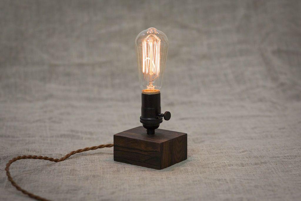 Купить Edison Lamp настольный светильник t h i n g s Pinterest - küchenmöbel aus holz