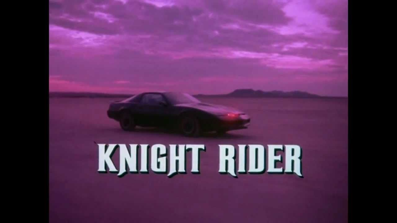 Knight Rider Intros Collection Knight Rider 80 Tv Shows 1980s Tv Shows