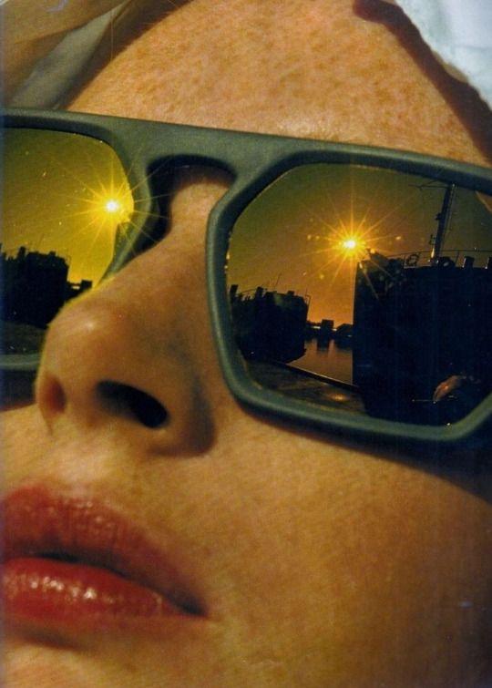 Photo by Hans Feurer _ Elle France, November 1988.